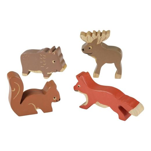 Nordic Forest Animals (Rubberwood)